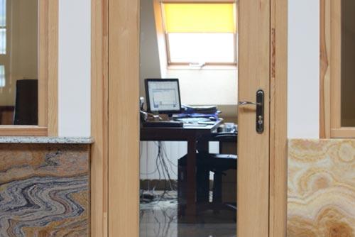 Drzwi wewnętrzne biuro